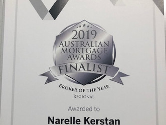 Honoured to be a finalist for the 2019 AMA Awards - Broker of the year.