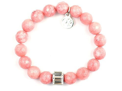 NAOMI • LIGHT SALMON JADE 10MM
