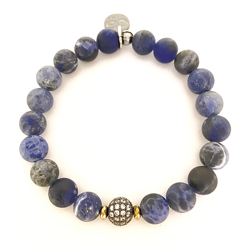 SHAY • MATTE SODALITE 8MM
