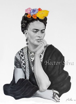Frida Pensativa