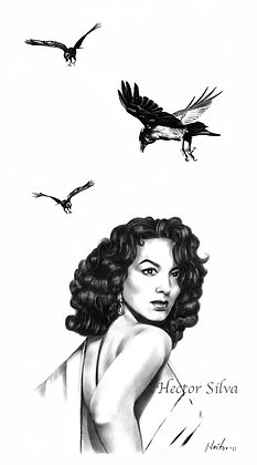 Maria with Crows