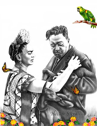 Oh Happy Days ( frida and diego