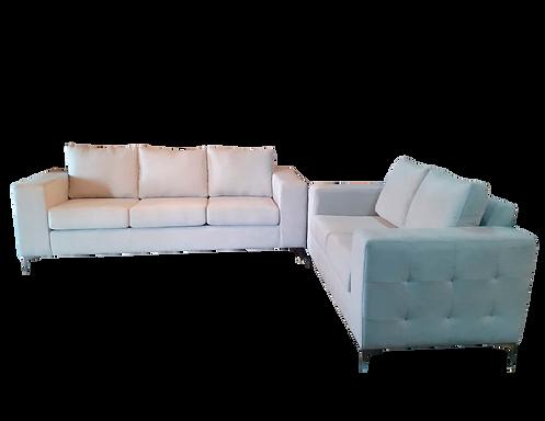 Sala Luxury (Sofá y Love Seat)