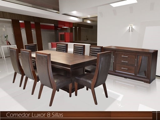 Comedor Luxor 8 sillas