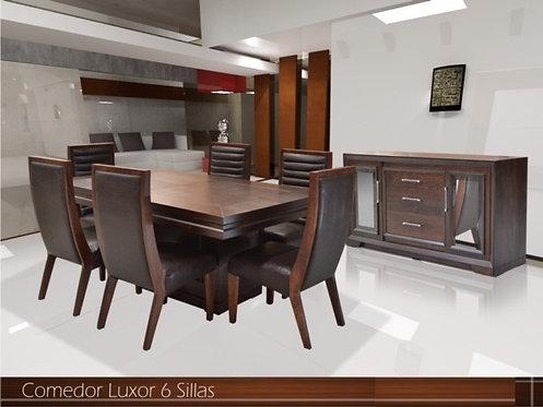 Comedor Luxor 6 sillas