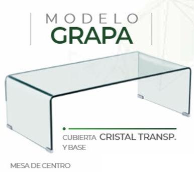 Mesa de Centro GRAPA CRISTAL
