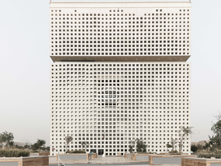 New photographs of Qatar Foundation Headquarters and SCC have been revealed by Yueqi Jazzy Li
