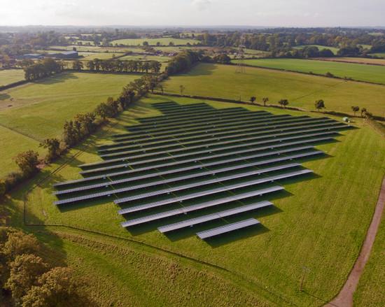 J Coote: Solar Farm
