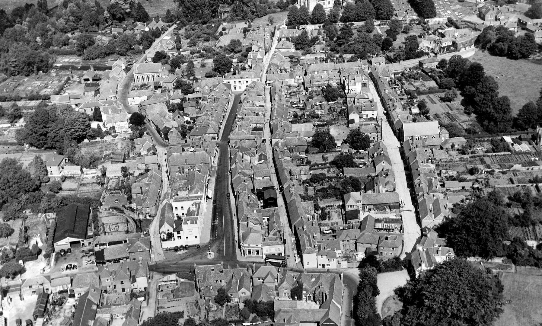 Bishop's Waltham aerial photo