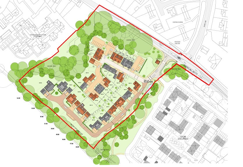 Plans for Coppice Hill part 1