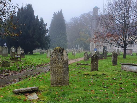 J Stiles: Churchyard.jpg
