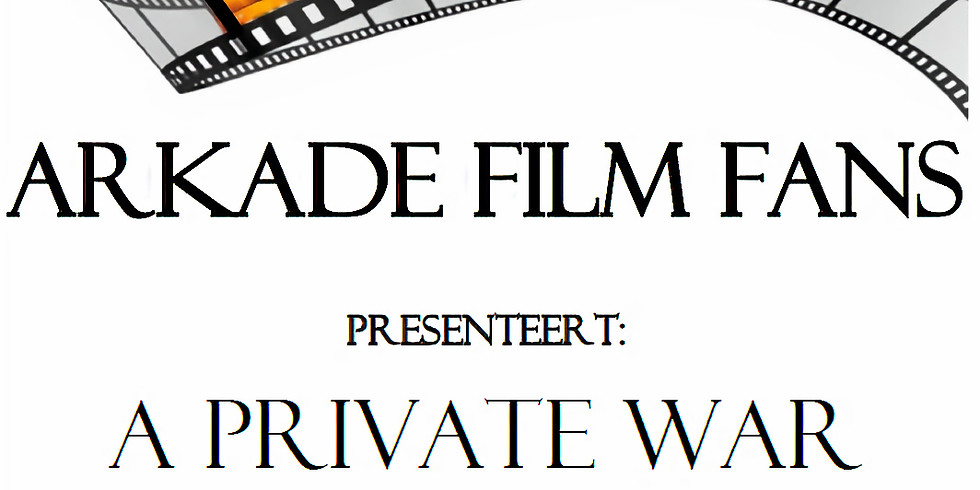 Filmavond: A Private War