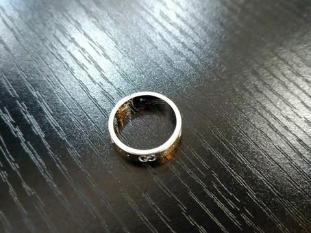 指輪にガラスコーティング♪《ガラスコーティング 富山》