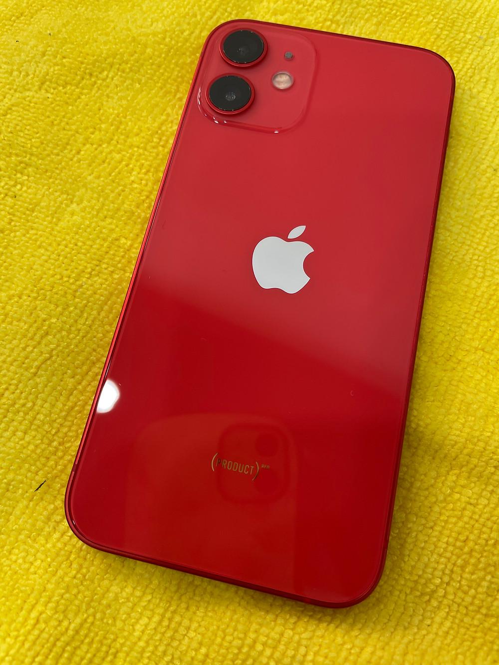 《iPhone12mini ガラスコーティング 富山》iPhone12miniチタン&ガラスコーティング!