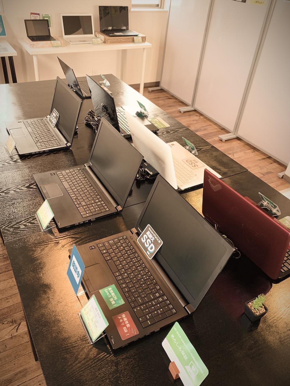 VIT-SHOP中古パソコンのラインナップがバラエティー豊富になりました☆