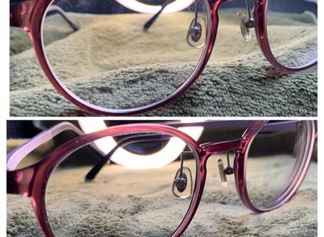 《ガラスコーティング 富山》メガネにチタンコーティング♪