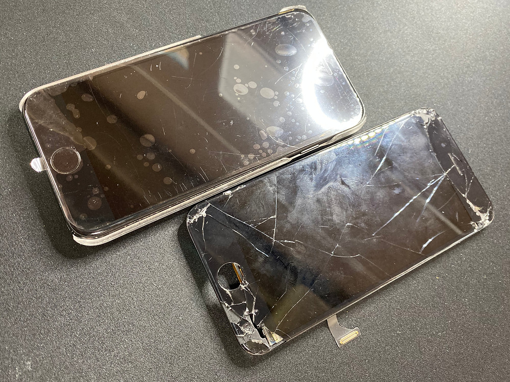 iPhoneのパネル交換とコーティング♪《Switch 修理 パソコン 修理 高岡》