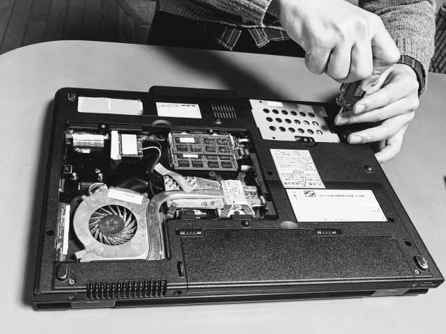 パソコン修理でよくある症状:ノートパソコン編