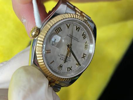 腕時計にガラスコーティング♪《ガラスコーティング 富山》
