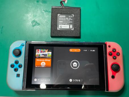 《任天堂Switch 修理 富山》任天堂Switchバッテリー交換は富山のVIT-SHOPにお任せください♪
