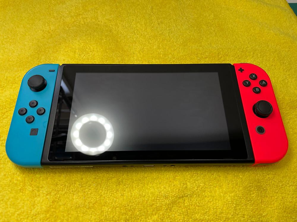 《任天堂Switch ガラスコーティング 富山》任天堂Switchにチタン&ガラスコーティング♪