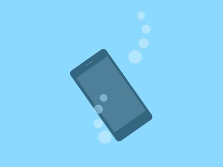 iPhone7以降の防水シールについて