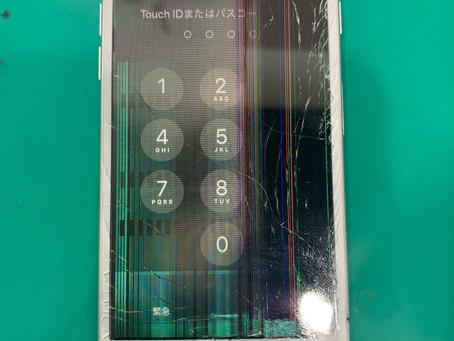 《富山 iPhone 画面 修理 》修理事例|iPhone7液晶不良で使えない!富山のVIT-SHOPで修理しましょう!