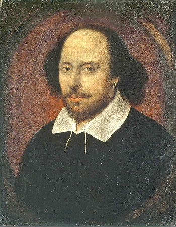 shakespeare, chandos, portrait