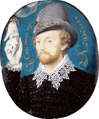 hilliard, nicholas, shakespeare, william, writer, portrait, clasping, hand, cloud, painting