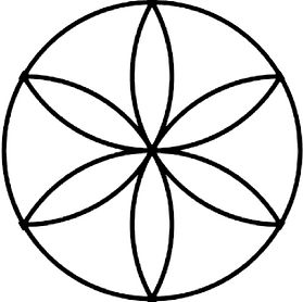 flower, life, hexafoil, medieval, graffiti, hidden, secret, history, archaeology, art, sacred, geometry, daisy, wheel, rosette, compass, interlace, circles, pythagoras