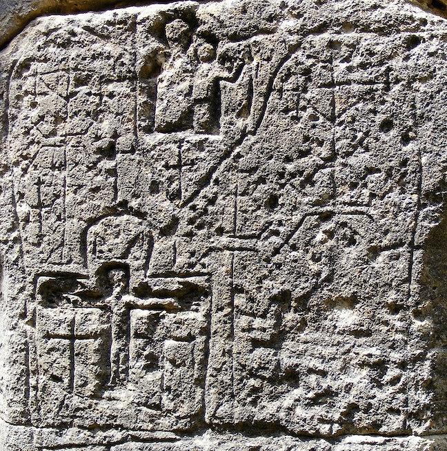 medieval, graffiti, knights, templar, templars, domme, crucixion, holy, grail
