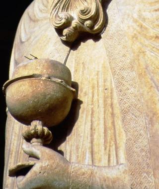 holy, grail, melchizedek, chartres, knights, templar, sculpture