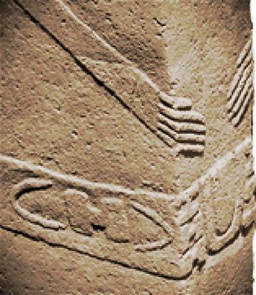 """Gobekli Tepe"", belt, pillar, symbols, shaman"
