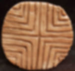 "vinca, culture, stamp, seal, ""old europe"", symbol, neolithic, replica"