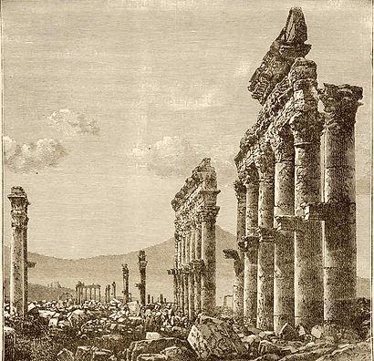 Palmyra, Syria, isil, isis, iconoclasm, fortea