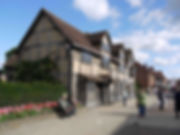 shakespeare, birthplace, stratford, upon, avon, william, playwright, writer