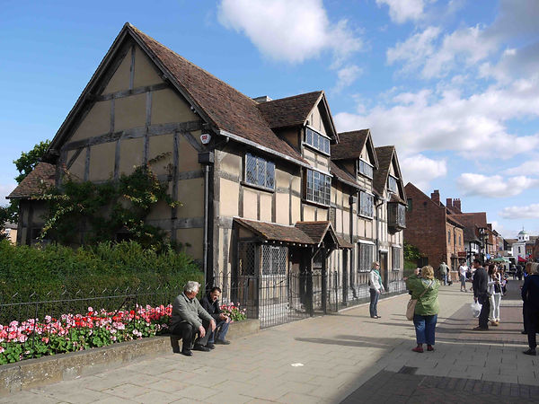 shakespeare, birthplace, stratford, upon, avon, william, playwright, writer
