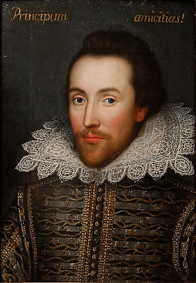 shakespeare, cobbe, portrait, painting