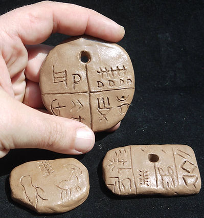 tartaria, tablets, romania, neolithic, amulet, shaman, potter, ceramic, magic, witch, wicca, replicas, replica