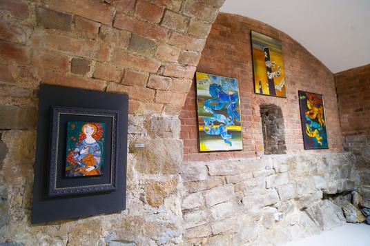 Персональная выставка Б.Н. Клочкова «Фрагменты». 2016 год.