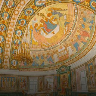 Выставка «Рязановская церковь – два века истории. От первого проекта до фресок ХХI века»