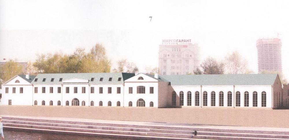 Проект Музейно-выставочного комплекса с УЦРД, Авторы проекта: А.А. Стариков, В.И. Симиненко, Г.В. Мазаев. 2008–2013 гг.