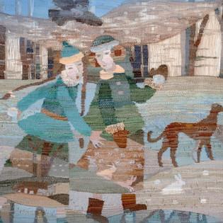 Выставка декоративно-прикладного искусства «Игра в снежки»