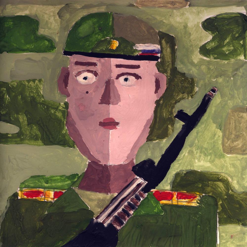 Ракетные войска и артиллерия, Назаркин Егор