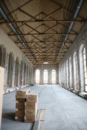 Большой зал музея, реконструкция. 2013 год.
