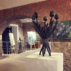 Выставка Анны Метелевой и Светланы Вятчаниной «Форма цвета»