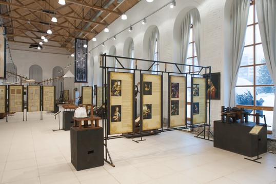 Выставка «Изобретения Леонардо да Винчи». 2017 год.