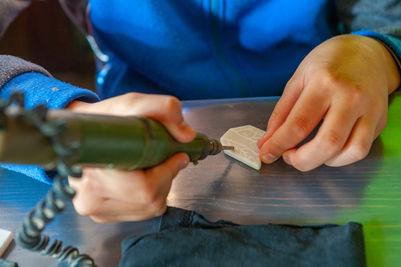 Мастер-классы «Художественная обработка камня»