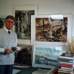 Выставка «Путевые зарисовки архитектора» работы Г.В. Шауфлера