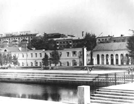 Здание Музея по проблемам истории и перспективам развития архитектуры Урала.
